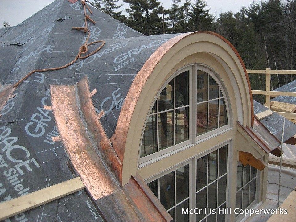 Mccrillis Hill Copper Works Barrel Roof Construction Roof Construction Architecture Glass Roof Design