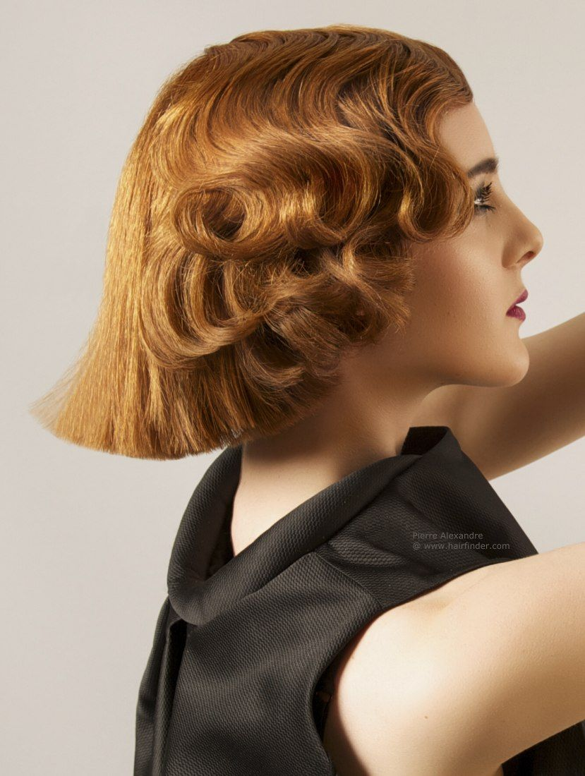 Fashion style Finger Classy wave hairstyles for woman