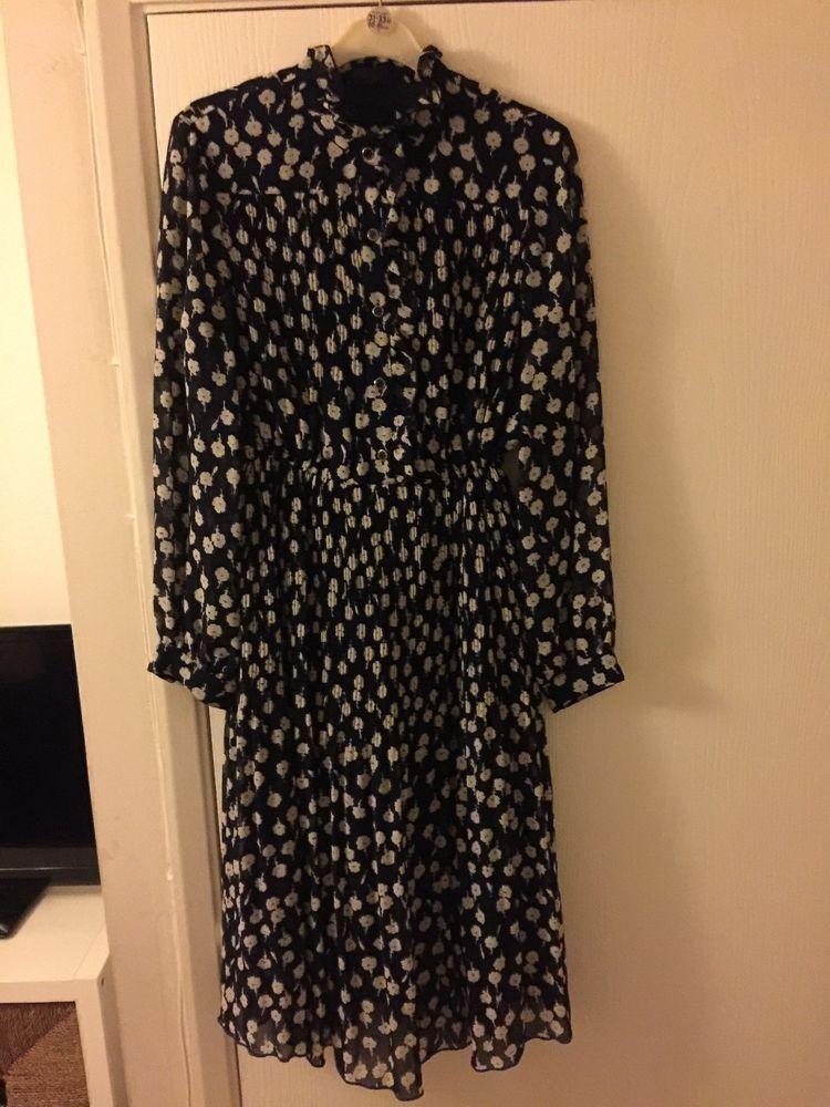 Beautiful Vintage Dress Size 8 10 By Babette Fashion Clothing