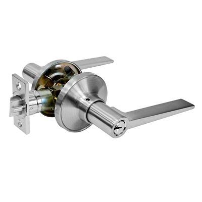 toolway 10075 tough guard door passage lock lever hardware