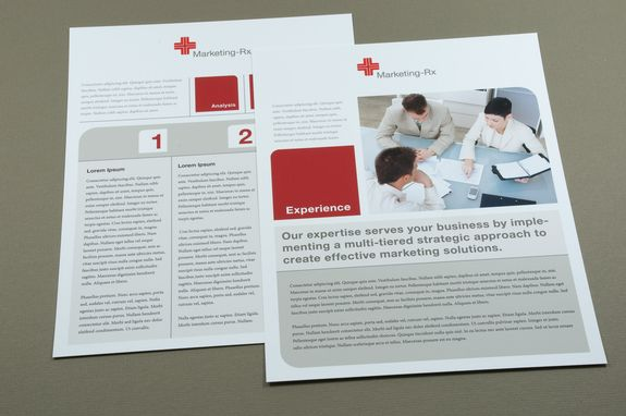 Marketing Prescription Datasheet Template  This Marketing Firm