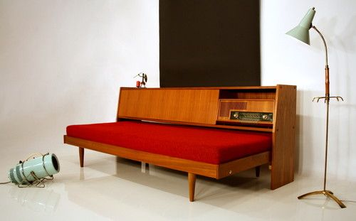 Daybed Sofa 60s Sofa Transformable To Bed 60er Sofa Couch Divano
