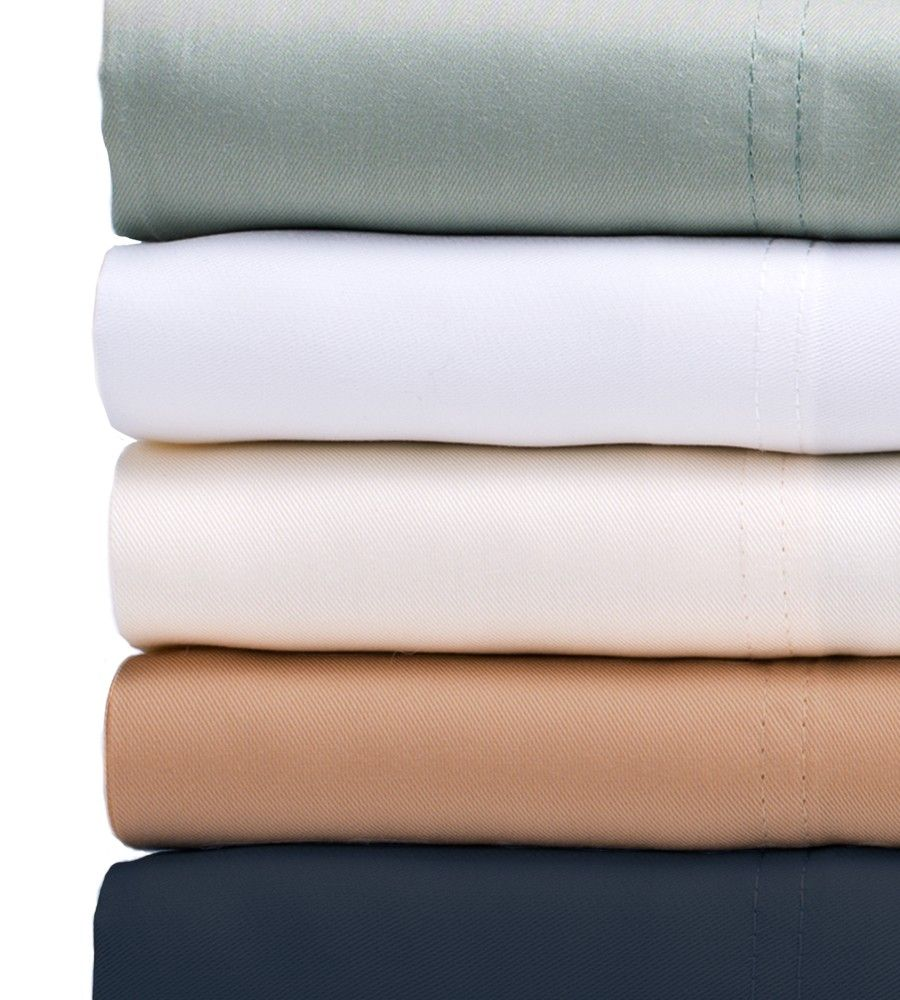 Classic Bamboo Bed Sheets Colors: Sage, White, Ivory, Sandy Shore, Bahama  Blue