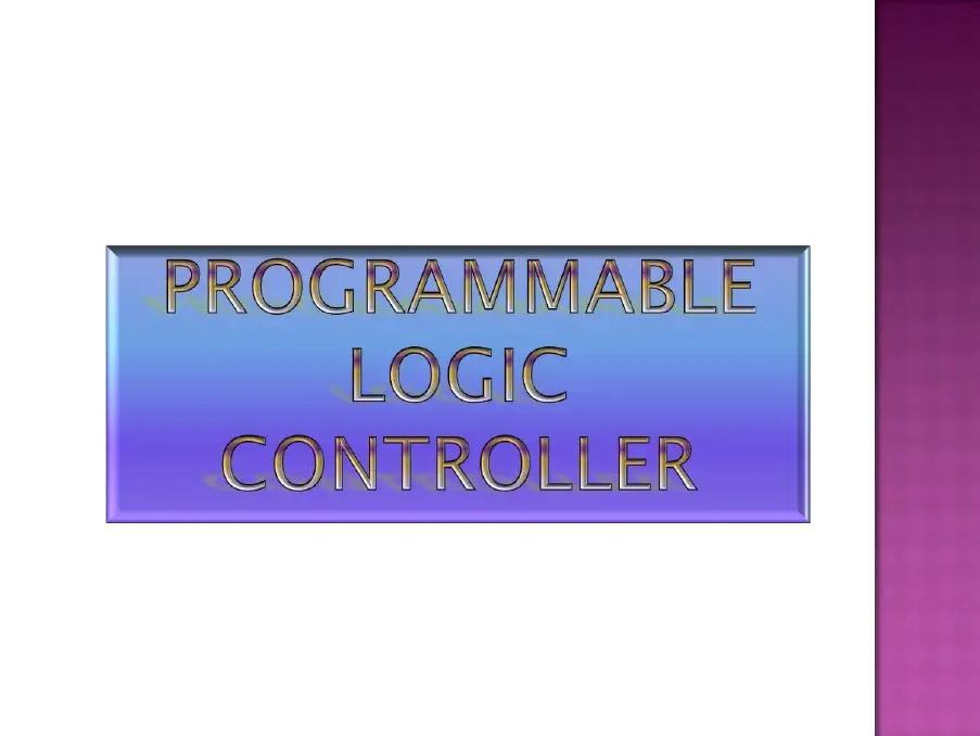 Plc Presentation New