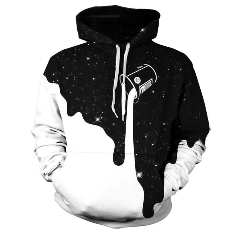 Graphic design hoodie printed hooded sweatshirt printed