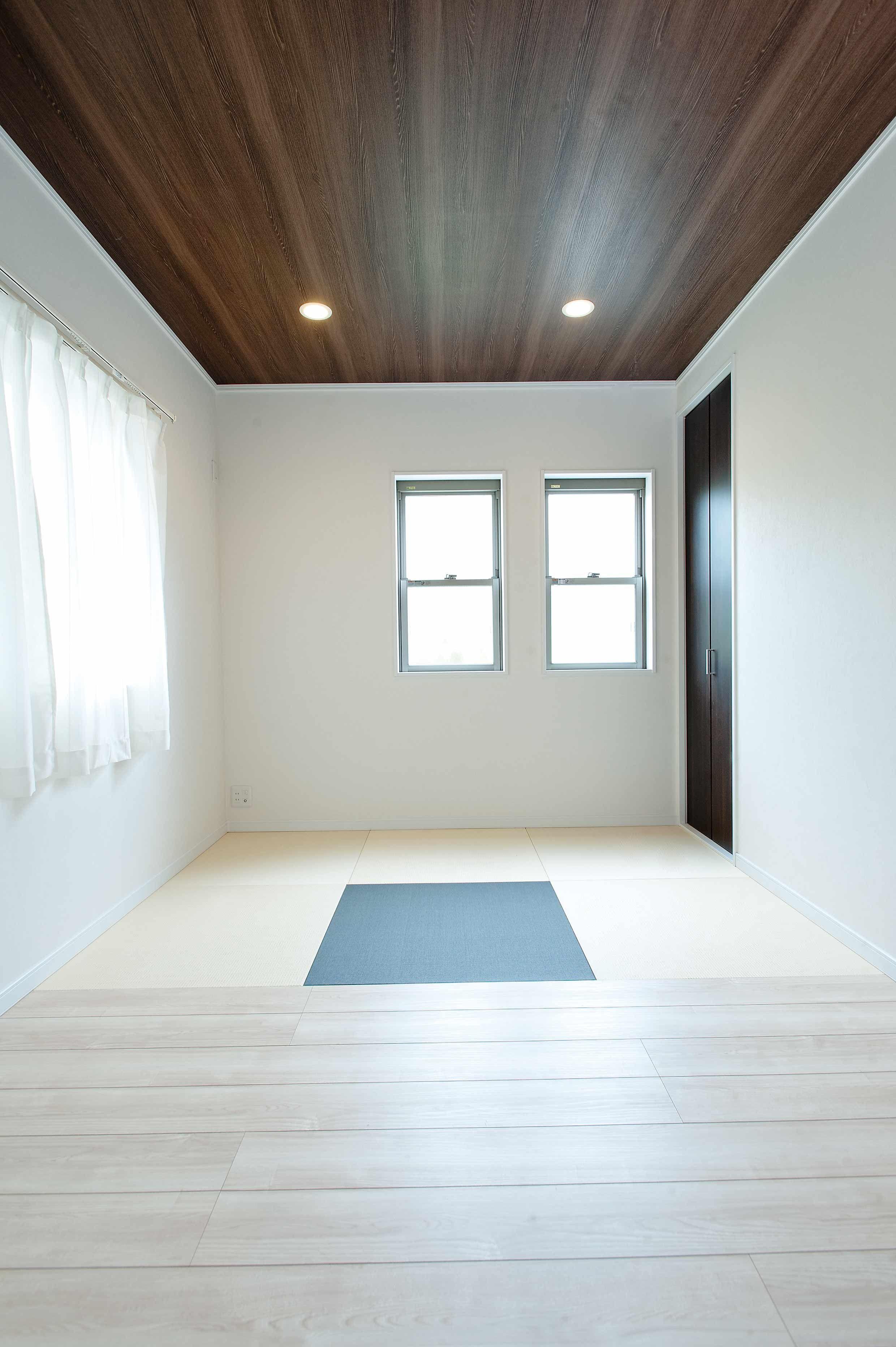 2015年04月02日の記事 施工例 ゲストルームは畳とフローリングを半々