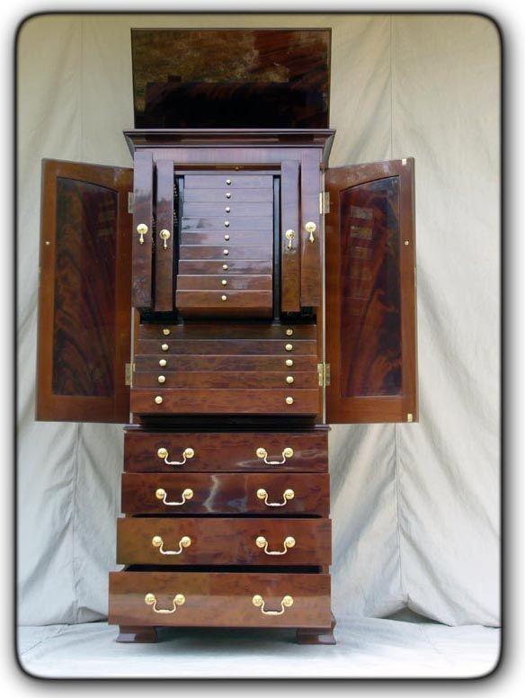 Custom Built Jewelry Armoire Jewelry Armoire Diy Modern