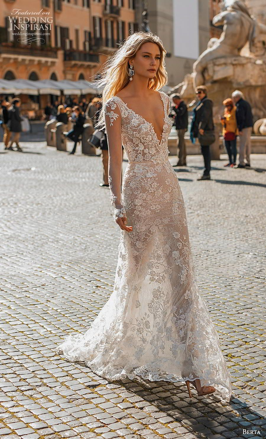 Berta Privée No. 2 Wedding Dresses — 2020 Bridal Collection #bertaweddingdress