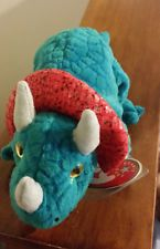 Ty Beanie Baby ~ HORNSLY the Triceratops Dinosaur ~ MINT with MINT TAGS~  RETIRED 8a857e2d27d9