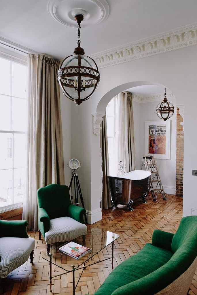 Boutique hotel style: A Catchpole and Rye Niederbronn bath at the Artist Residence Hotel, London.