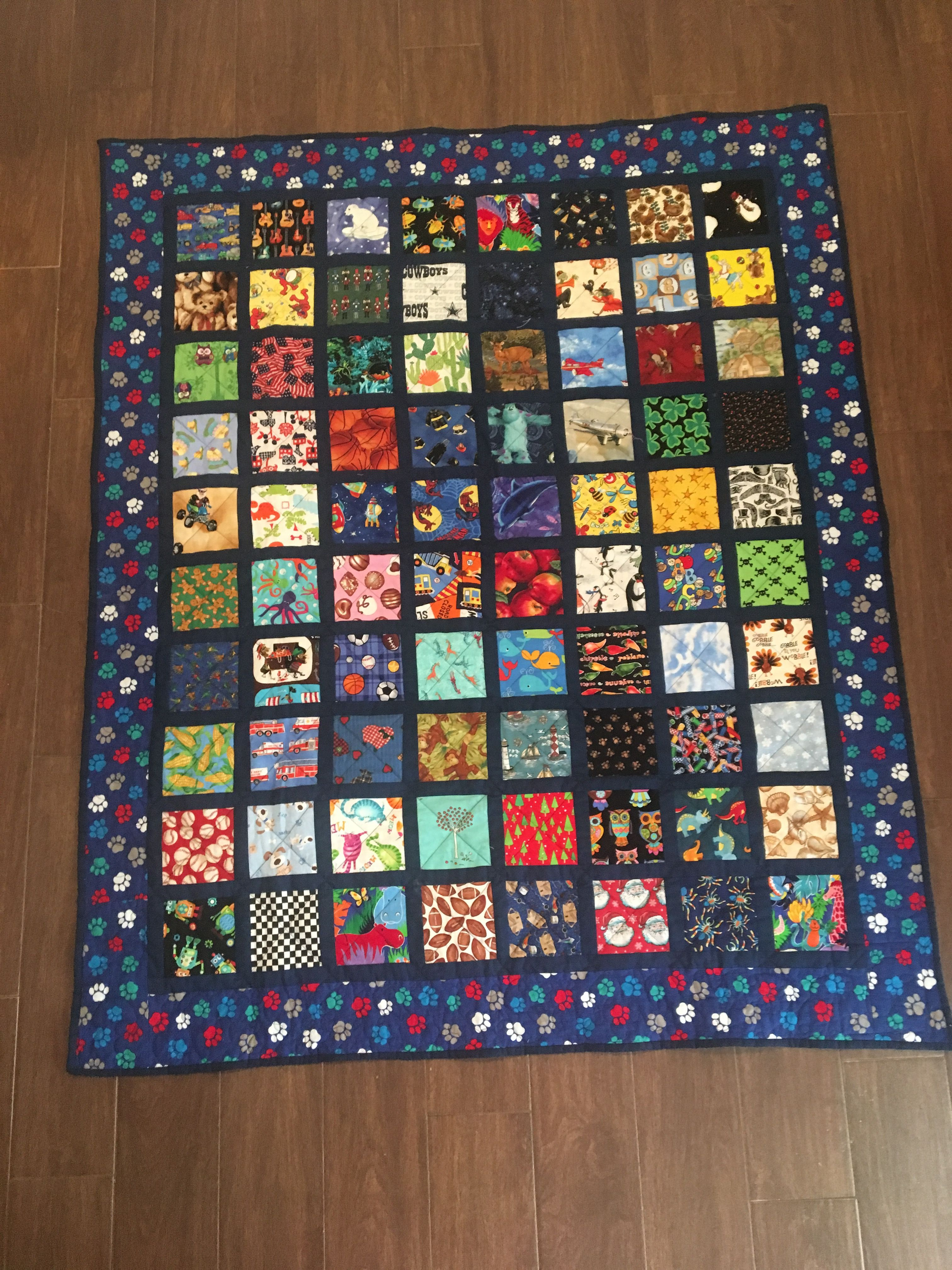 I Spy Quilt Made Of 5 Squares 1 5 Sashing I Spy Quilt Baby Quilt Patterns Quilts