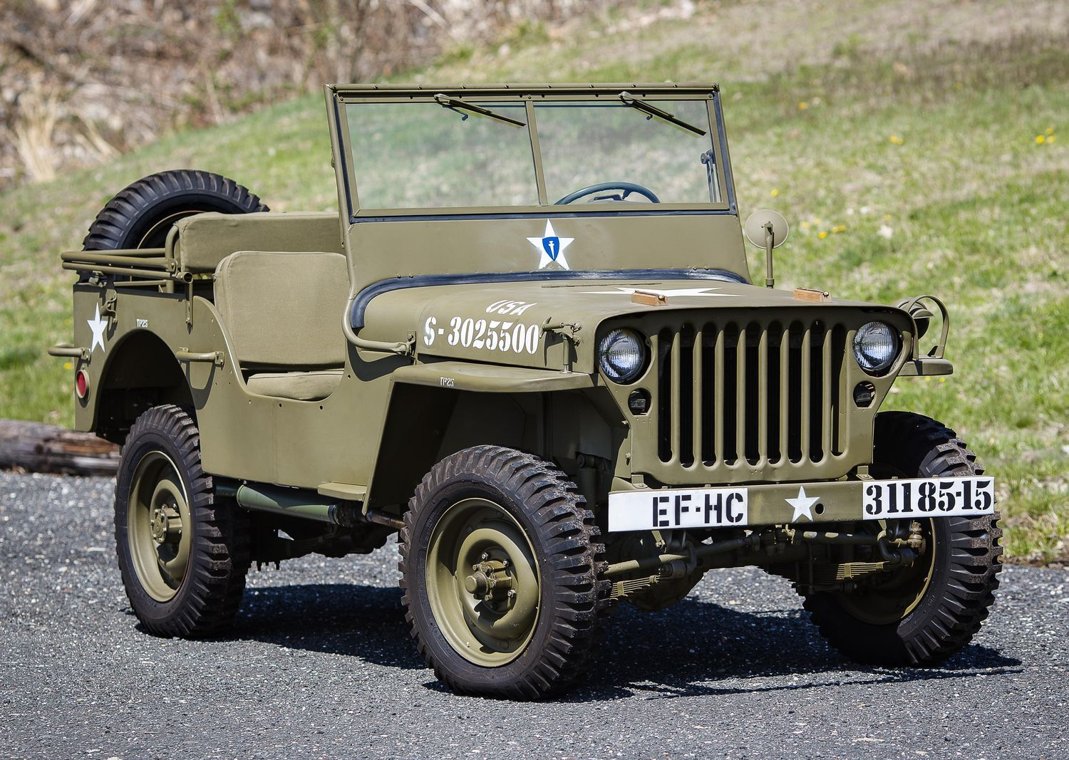 "Jeep mb jeep : Found in crate"" 1944 Willys MB Jeep to cross the block 
