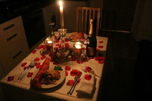 I've always wanted a candlelight dinner and I think the ...