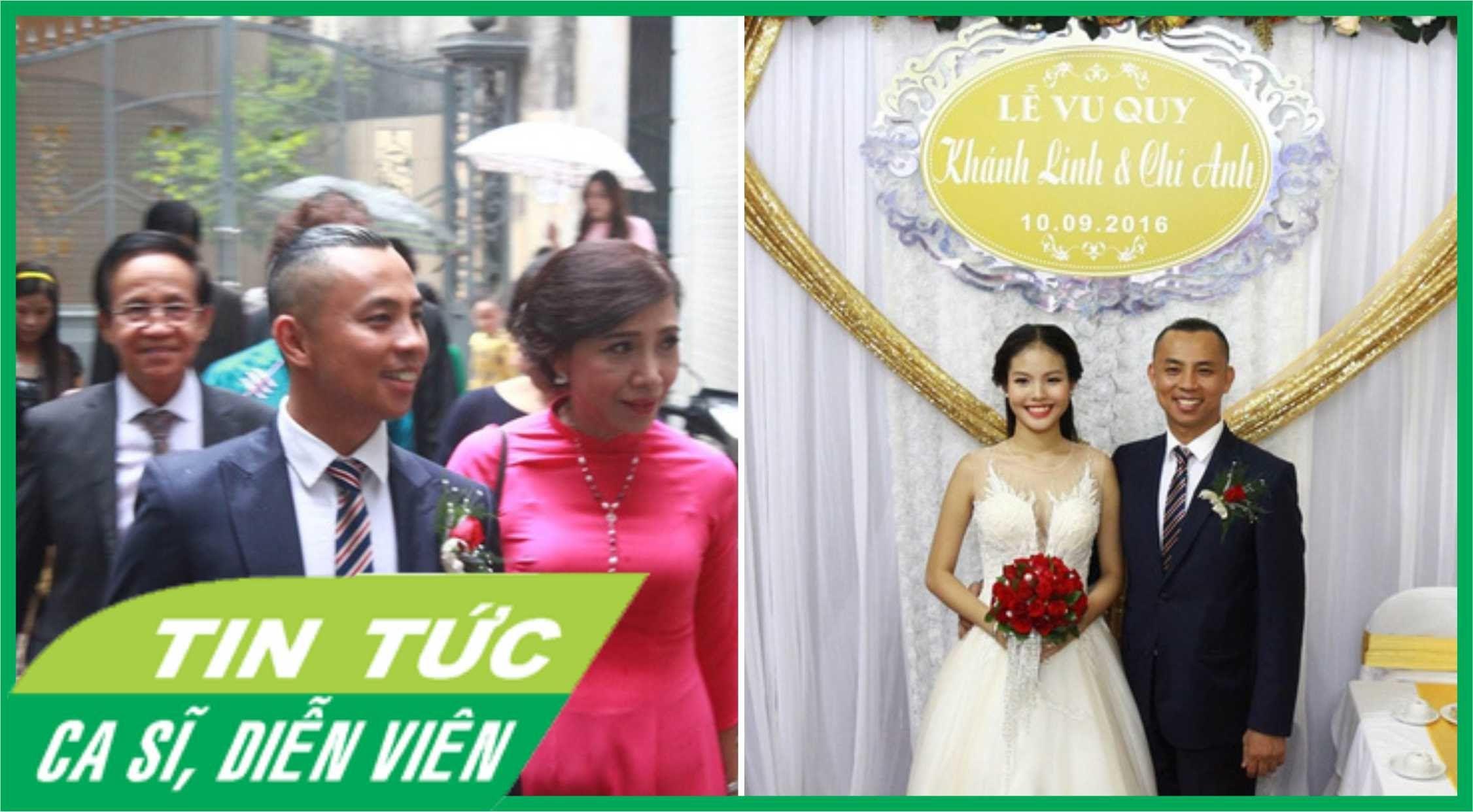 Đám cưới Chí Anh và Khánh Linh || Toàn cảnh Lễ rước dâu ngày 10.9.2016