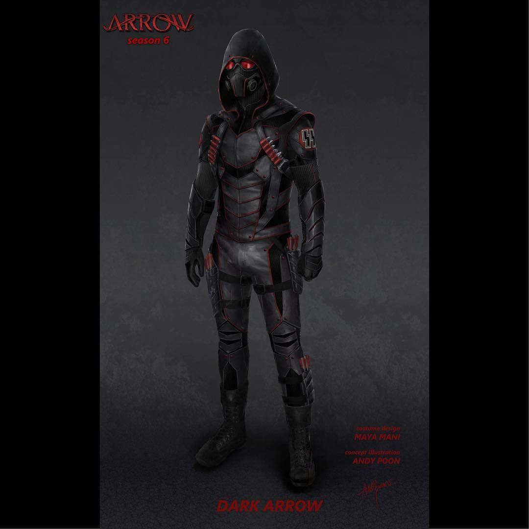 Dark Arrow Concept Illustration From Last Year S Crossover Crisis