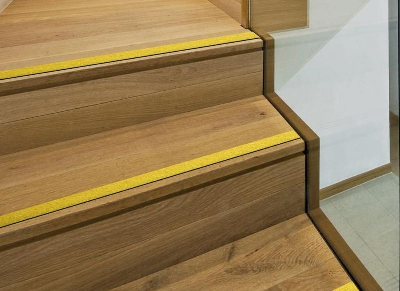 Stair Nosing Is A Safe Way To Finish Your Wood Flooring On Your Staircase,  By Hiding The Edges Of The Wood Flooring, Where The Two Wood Floors Meet.