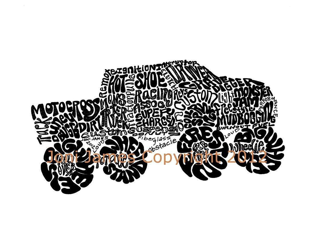 53 best monster truck party images on pinterest monster trucks