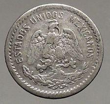1907 MEXICO  Antique SILVER 10 Centavos Mexican COIN  Eagle Liberty Cap i56777 https://trustedmedievalcoins.wordpress.com/2016/07/11/1907-mexico-antique-silver-10-centavos-mexican-coin-eagle-liberty-cap-i56777/