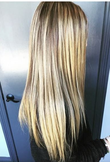 Hair Color Blonde Higlights And Beige Tones Hair Color