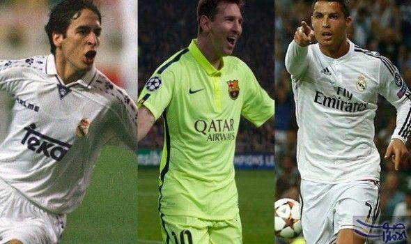 راؤول أفضل لاعبي الدوري الإسباني وميسى الرابع كشفت دراسة أجراها مركز البحوث في تاريخ وإحصائيات كرة القدم الإسبانية أن اللاعب Lionel Messi Sports Jersey Messi