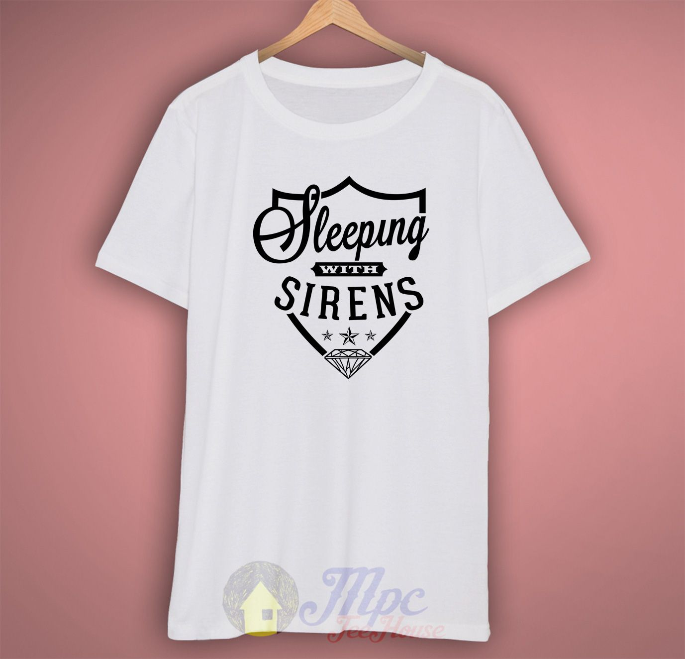 Sleeping With Sirens Symbol T Shirt Sirens Symbols And 80s Tees