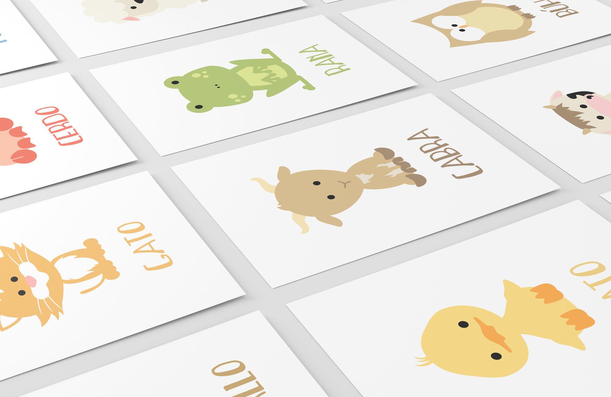 Spanish Animal Flashcards Farm Animal Flashcards Alphabet
