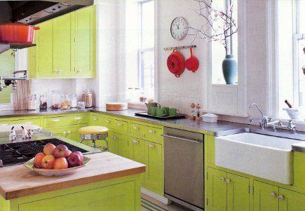 vert pomme cuisine d co pinterest vert pomme la cuisine et pommes. Black Bedroom Furniture Sets. Home Design Ideas
