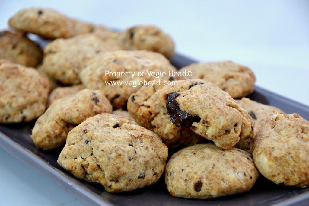 Vegie Head » Gooey Chocolate Chunk Nut Cookies…