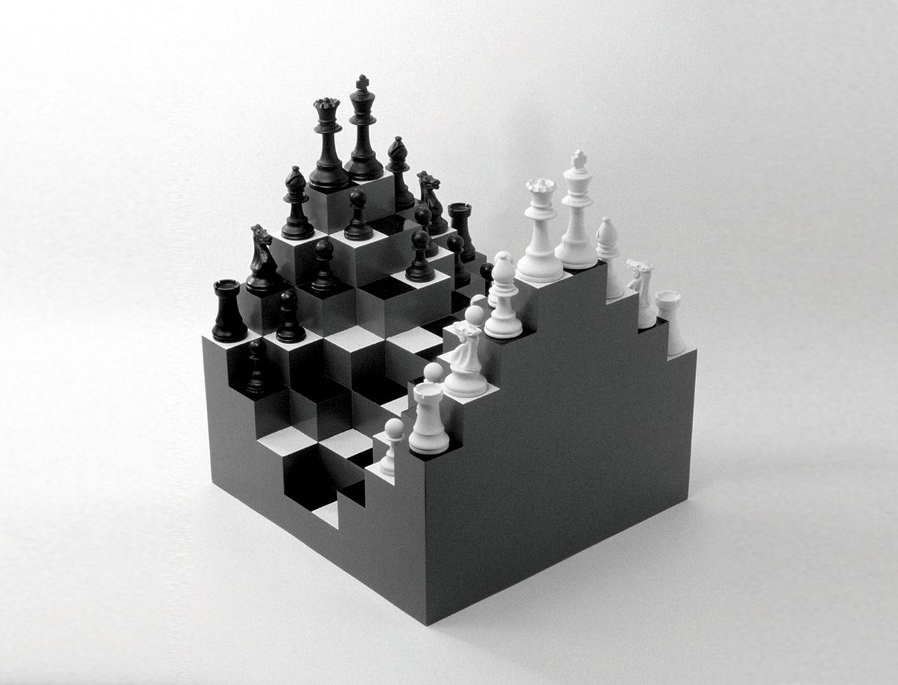 It S Not Quite Star Trek Tng S 3d Chess But Ji Lee S Board