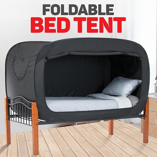 EWN Foldable Private Bed Tent, 200x110CM, Black Price in