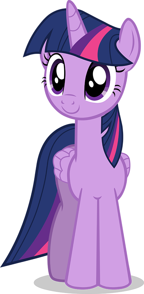 Twilight Sparkle Alicorn Vector Made In Adobe Illustrator Version 2 Improvements Include Smoothing On Horn Better Wing Shape Added More Show Accurate