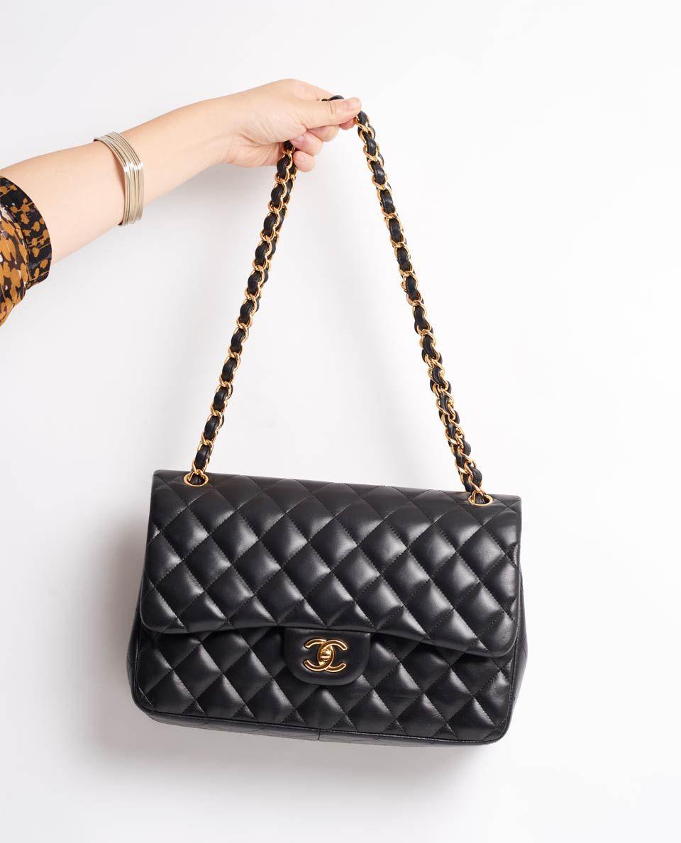 508546de0cbe VINTAGE CHANEL 12″ CLASSIC FLAP BAG | Wardrobe Inspiration | Vintage ...