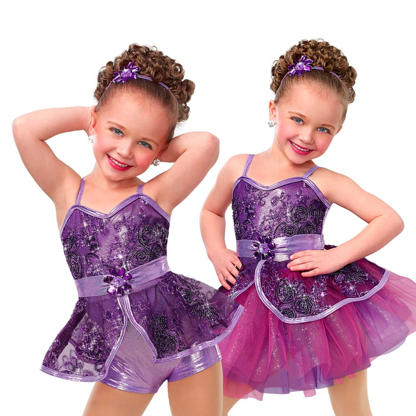 Curtain Call Full Of Wishes 2 In 1 Dance Costumes Girls