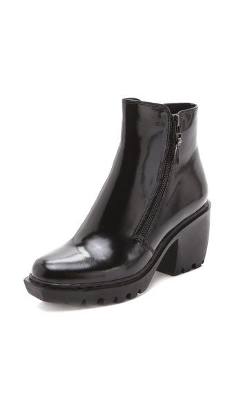 Grunge double zip bootie by Opening Ceremony