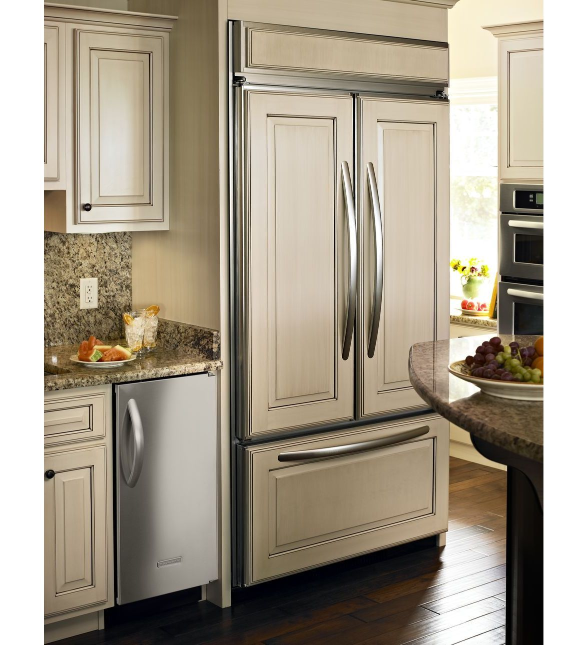 architect series ii built in refrigerator handle kit french door rh pinterest com