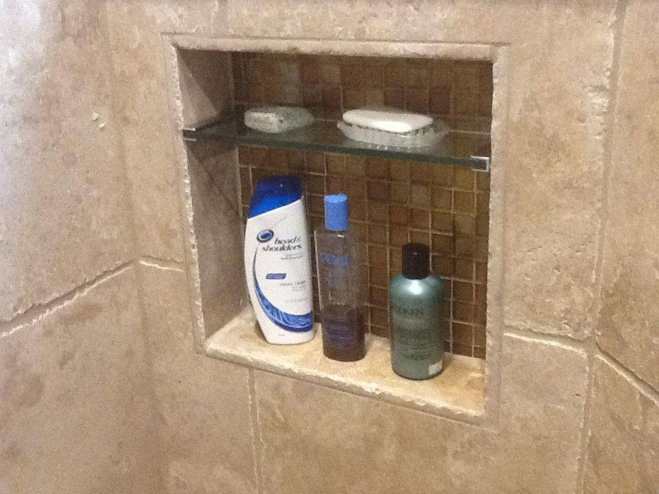 Bathroom Niche Shelves bath shower built in soap box - google search | master bath at