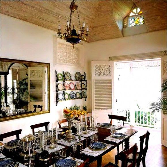 carribean style dining room chair table furniture design british rh pinterest com