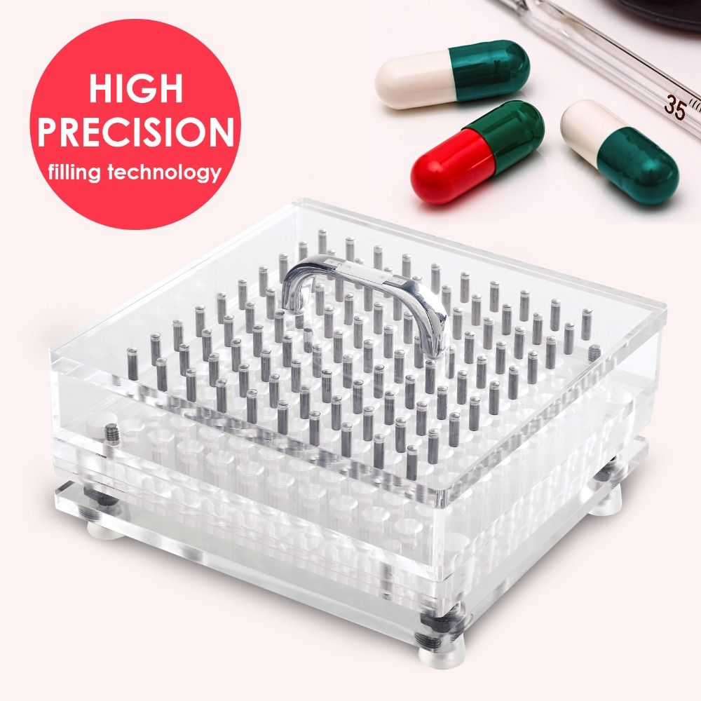 100 Holes High Precision Size 4 Cn 100cl Manual Capsule Filler Fillable Capsules Machine Easy Cleaning Type Capsule Machine Cool Things To Buy Capsule