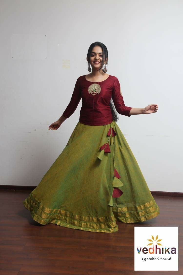 53f5d90c1 Indian dresses Lehenga Designs, Churidar Designs, Saree Blouse Designs,  Blouse Styles, Indian