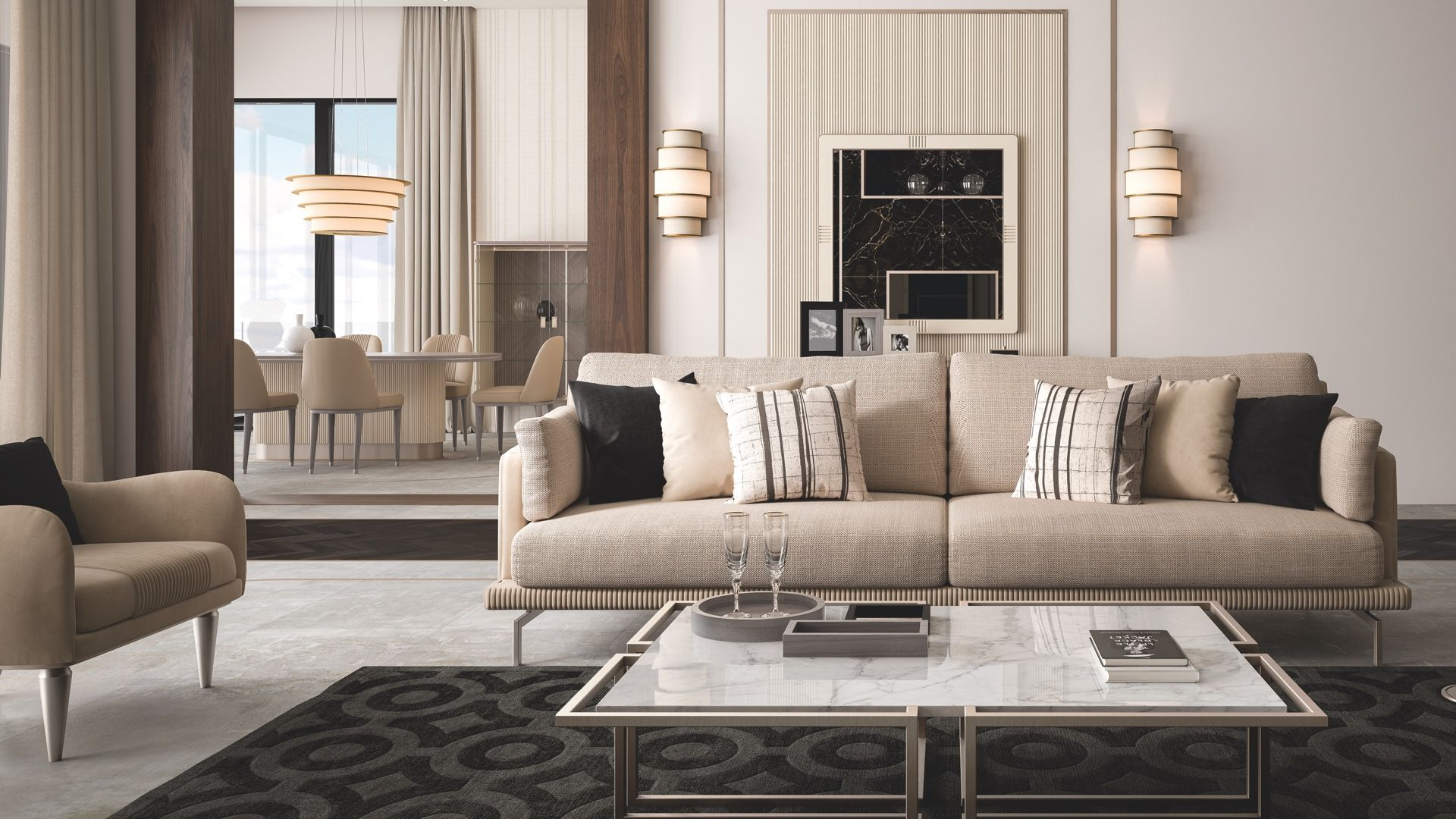 the new sofa of cipriani homood from cocoon collection upholstered rh pinterest com