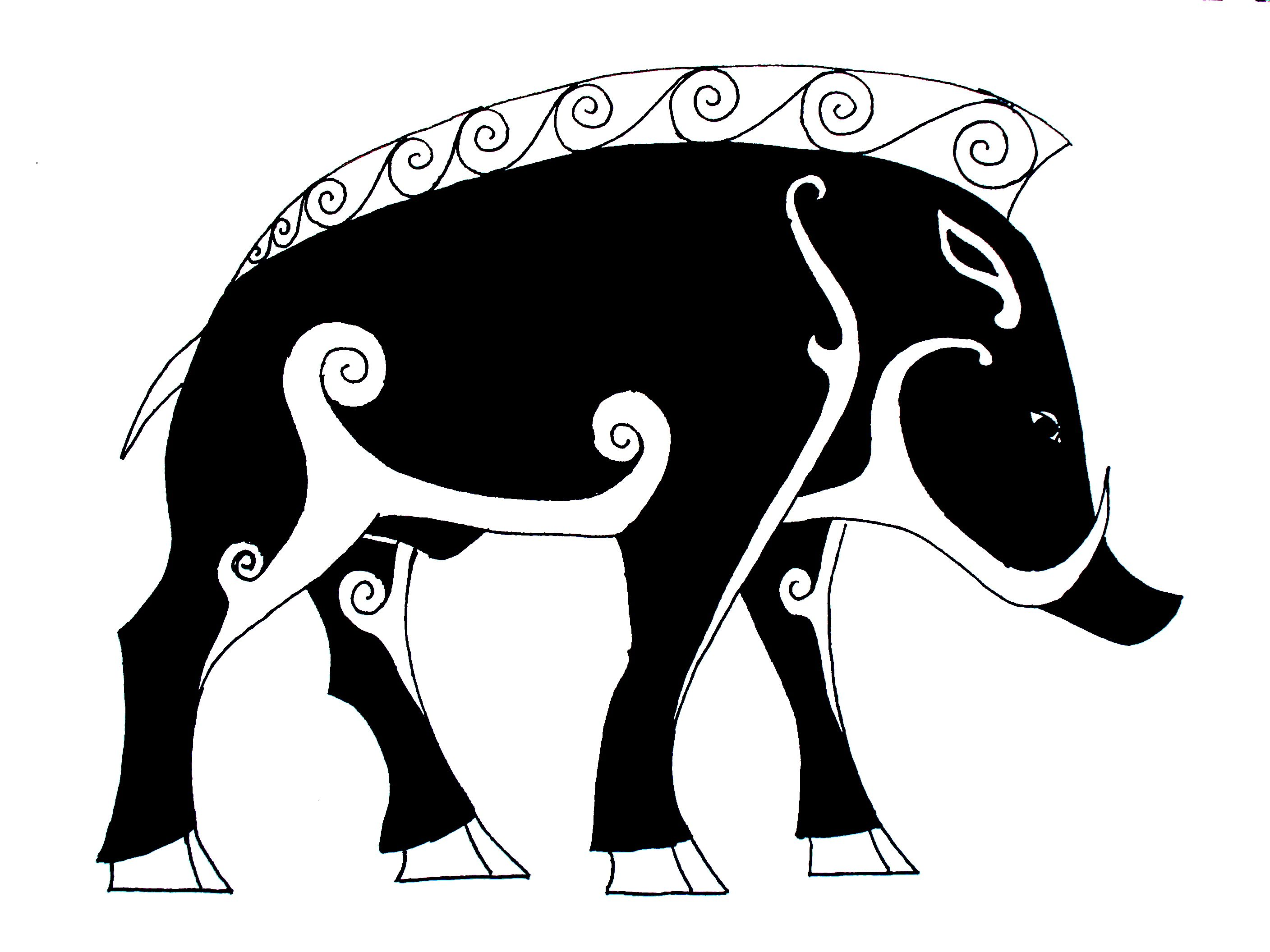 Animal spirit 1 the boar tattoo tatoo and tatting symbol of warriors i would like to have this as a tattoo pictish boar biocorpaavc Image collections