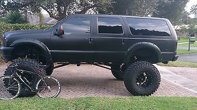 2004 Ford Excursion Xlt Sport Utility 4 Door 6 0l Lifted 16 Inches
