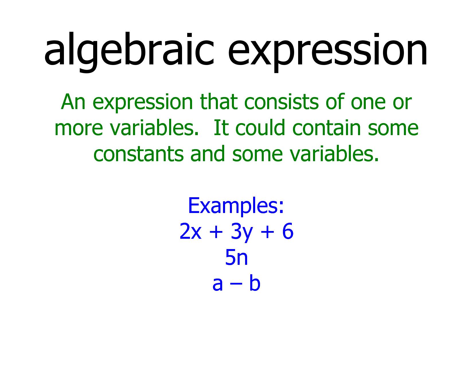 33++ Harmonious algebraic expressions info