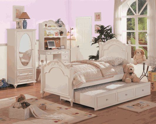 chantilly white twin trundle bed collection house ideas wishes rh pinterest com