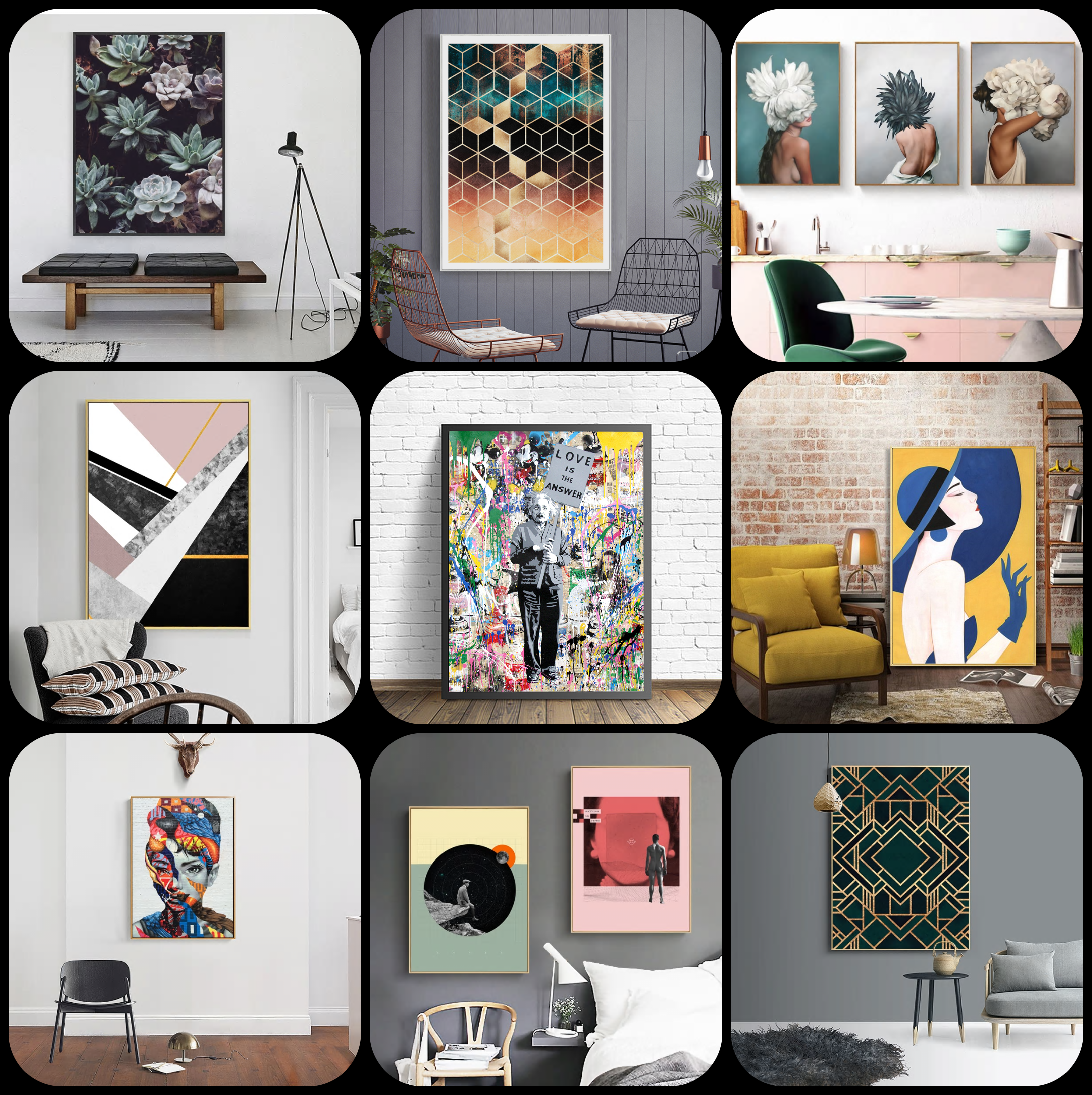 Cheap Gallery Walls Wall Art Wall Decor Stickers Posters