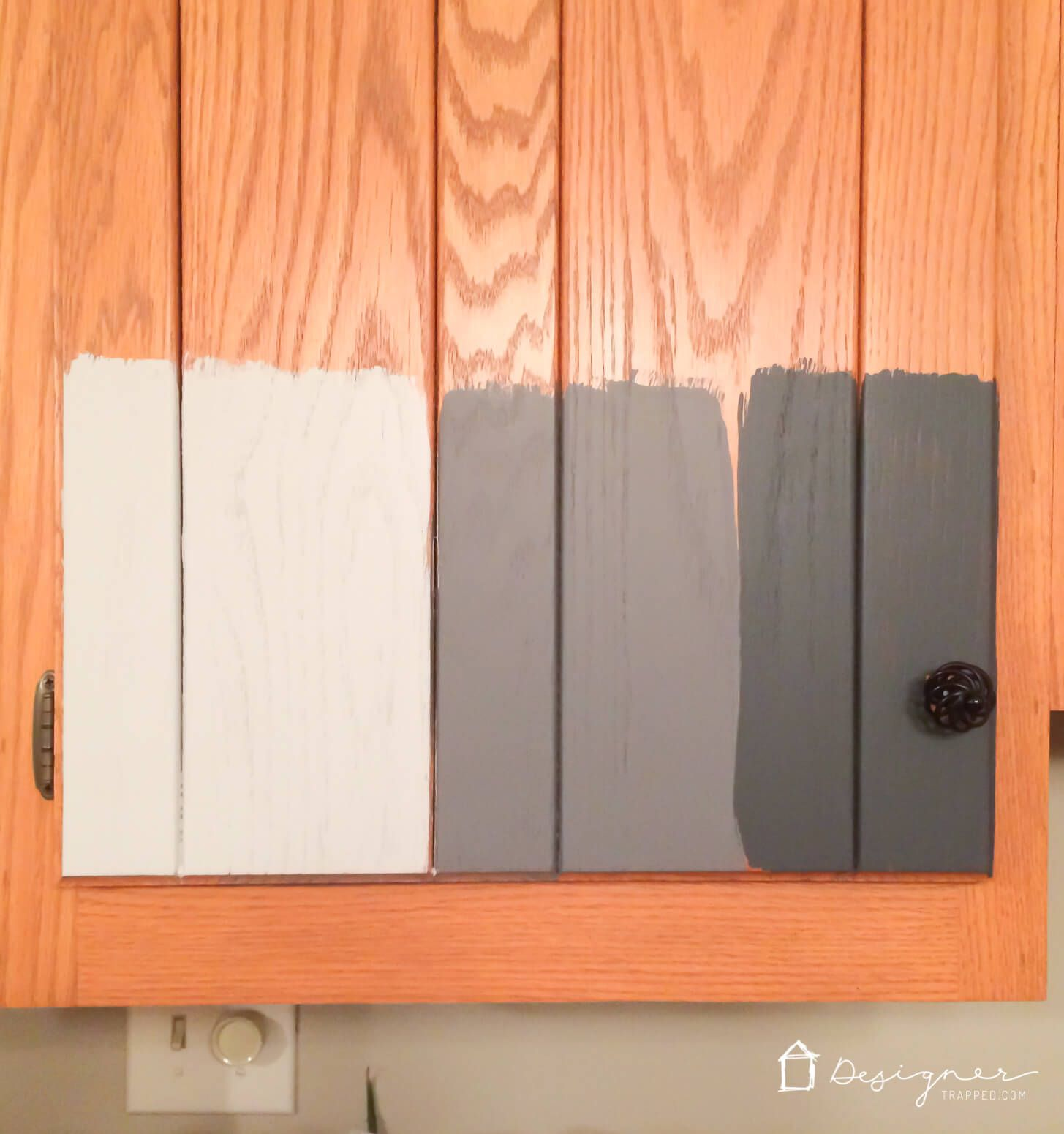 Should I Paint My Kitchen Cabinets? | DesignerTrapped.com
