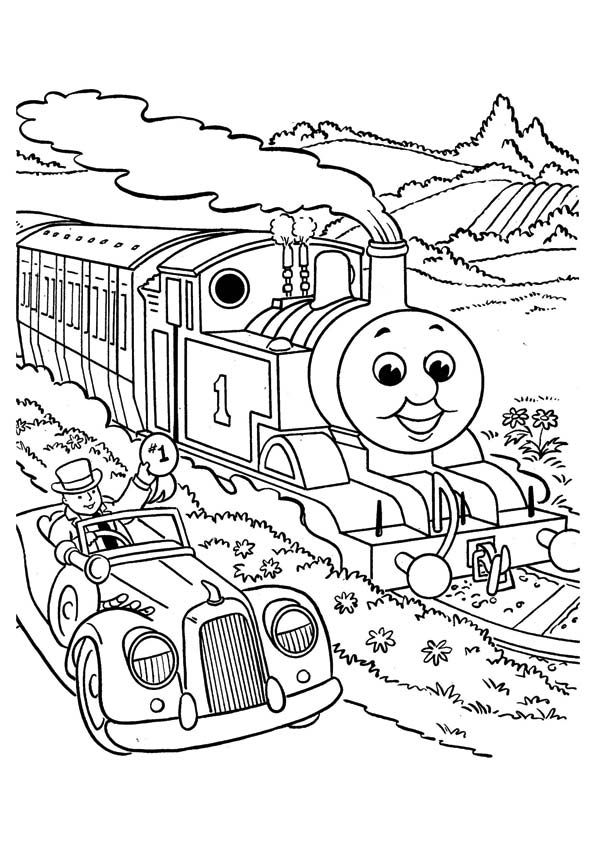 Top 20 Thomas The Train Coloring Pages Your Toddler Will Love With Images Train Coloring Pages Adventure Time Coloring Pages