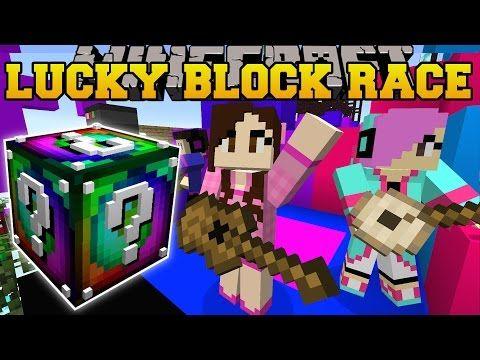 Minecraft: EPIC CONCERT LUCKY BLOCK RACE - Lucky Block Mod - Modded
