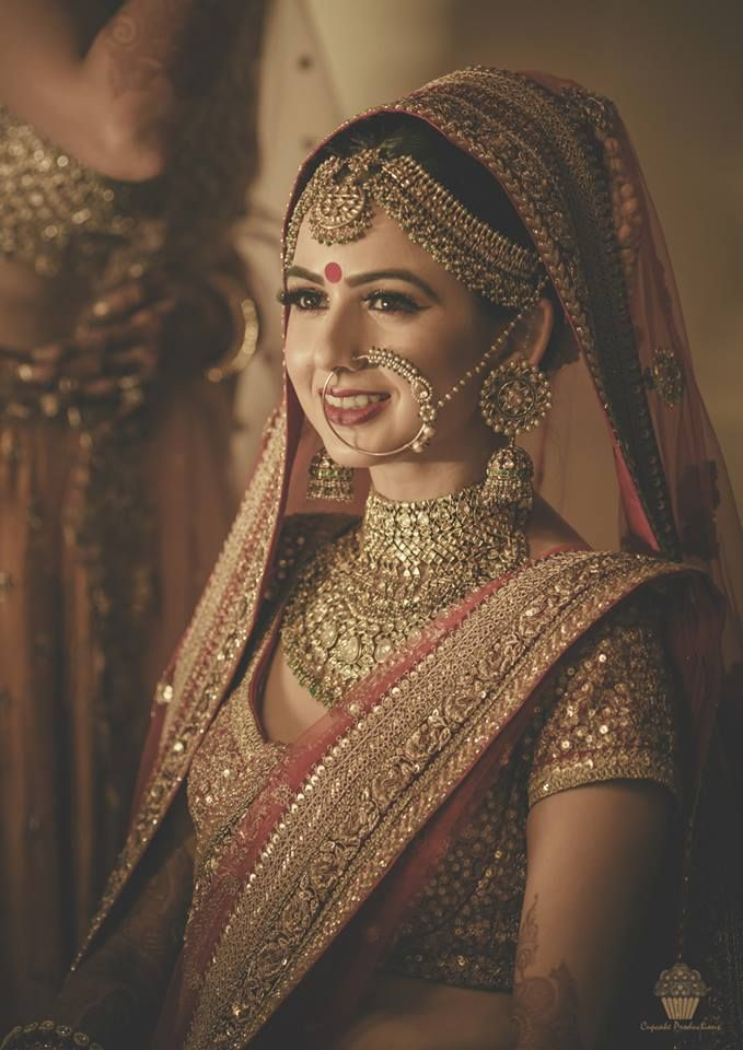 indian wedding hairstyle gallery%0A One of the most stunning bridal portrait images by a top Indian Wedding  photographer