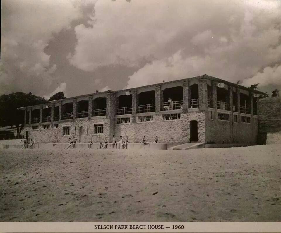 Beach house at nelson park 1960 decatur illinois photo by herald review i lived only